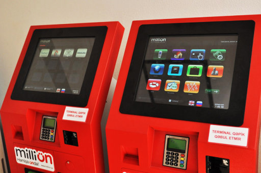 Payment terminals in Baku to accept payment via bank cards