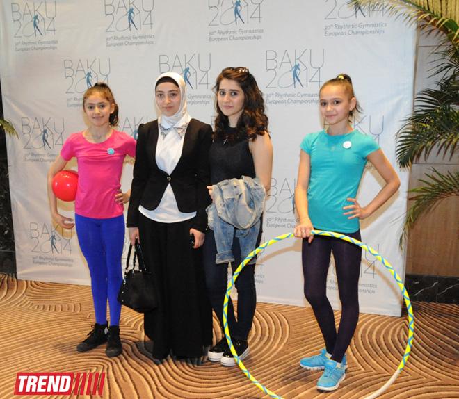 В Баку состоялась презентация официального сайта и промо-ролика чемпионата Европы по художественной гимнастике (ФОТО) (ВИДЕО)