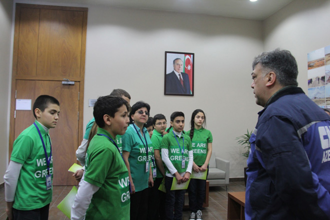 """""""Hər kağızı bir yarpağa çevirək"""" layihəsi çərçivəsində məlumat turu keçirilib (FOTO)"""