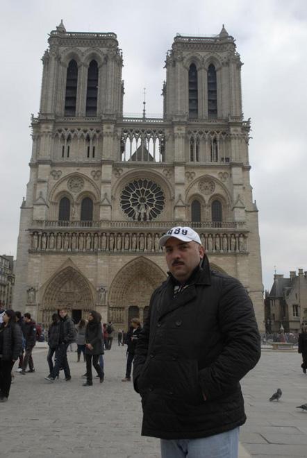 MERCI,  ПАРИЖ!  BONJOUR, БАКУ!  - путешествие Бахрама Багирзаде (ФОТО)