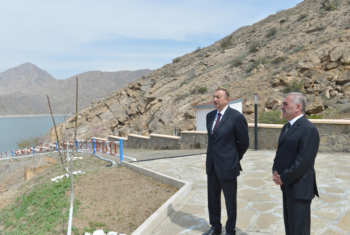 """Naxçıvanda """"Arpaçay-1"""" və """"Arpaçay-2"""" Su Elektrik stansiyaları işə salınıb (FOTO)"""