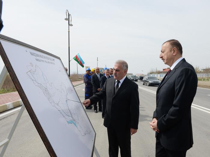Naxçıvan-Şahbuz-Batabat magistral avtomobil yolu istifadəyə verilib (FOTO)