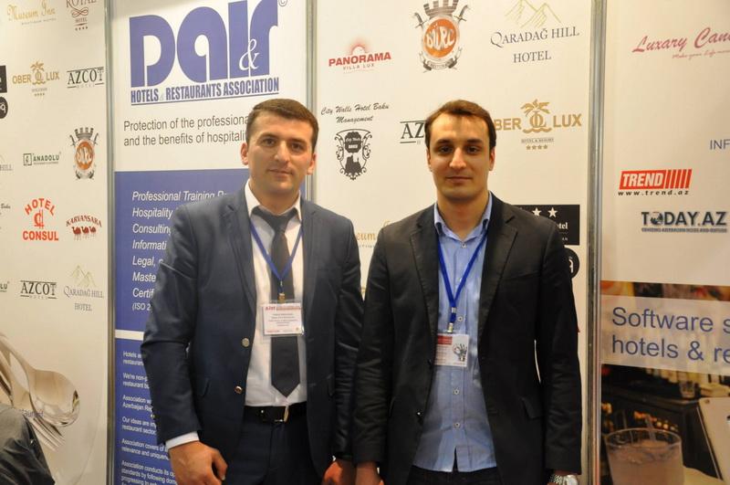 """DAİR Hotellər və Restoranlar Assosiasiyası """"AITF 2014"""" Sərgisində kollektiv stendlə iştirak edib (FOTO)"""