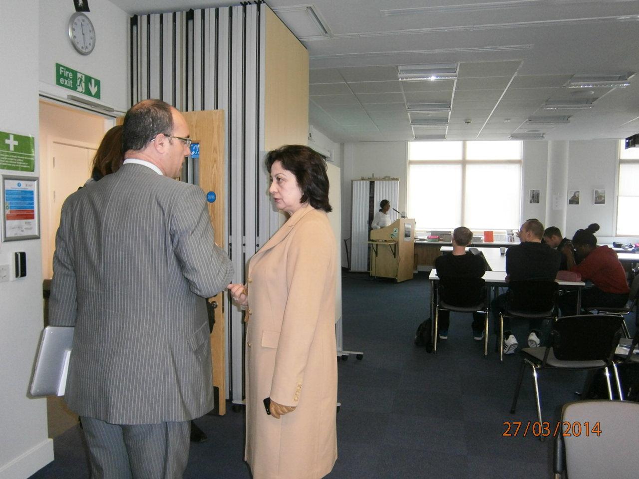 Azərbaycan Memarlıq və İnşaat Universiteti İngiltərənin universitetləri ilə təhsil sahəsində əməkdaşlığı genişləndirir (FOTO)