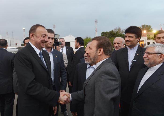 Prezident İlham Əliyevin İran İslam Respublikasına rəsmi səfəri başa çatıb (FOTO)