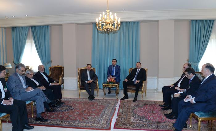 Prezident İlham Əliyev İranın rabitə və informasiya texnologiyaları naziri ilə görüşüb  (FOTO)