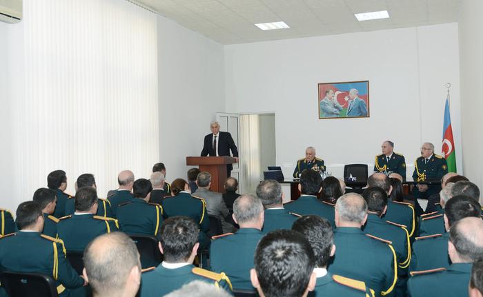 Dövlət Feldyeger Xidmətinin 10 illik yubileyi qeyd olunub (FOTO)