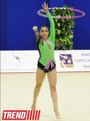 В столице состоялось 21-е первенство Баку по художественной гимнастике (ФОТО)