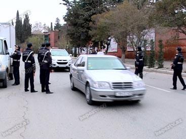 Gəncənin yol polisi sərxoş sürücülərə qarşı mübarizəni gücləndirib (FOTO)