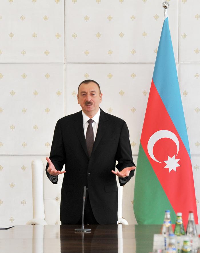 Prezident İlham Əliyev: Azərbaycan dinamik inkişaf templərini saxlaya bilib (FOTO)