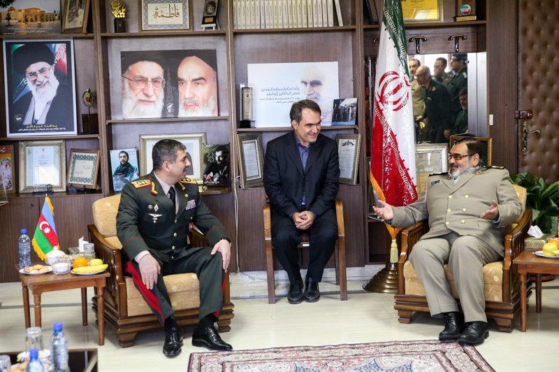 Həsən Firuzabadi: İranla Azərbaycan arasında hərbi sahədə əməkdaşlıq iki ölkənin rifah və sabitliyi üçündür (FOTO)