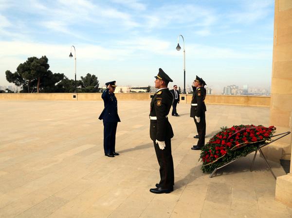 Pakistan Hərbi Hava Qüvvələri komandanının Azərbaycana rəsmi səfəri başlayıb (FOTO)