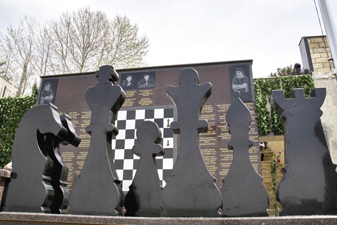 Vüqar Həşimovun xatirəsinə həsr olunan Beynəlxalq şahmat turnirinin iştirakçıları ümummilli lider Heydər Əliyevin xatirəsini yad ediblər (FOTO)