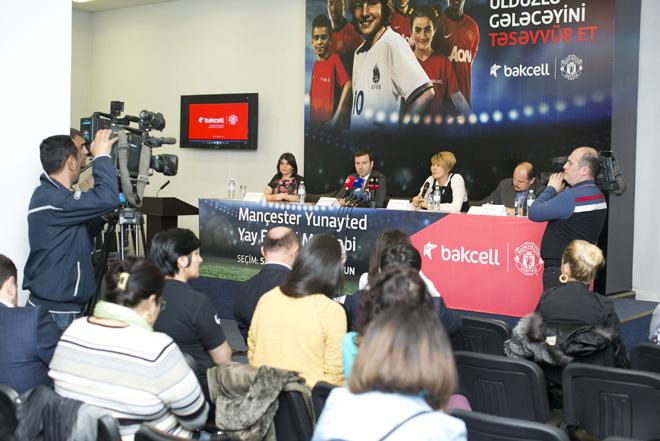 """""""Mançester Yunayted"""" Yay Futbol Məktəbi ikinci dəfə Azərbaycanda!  (FOTO)"""