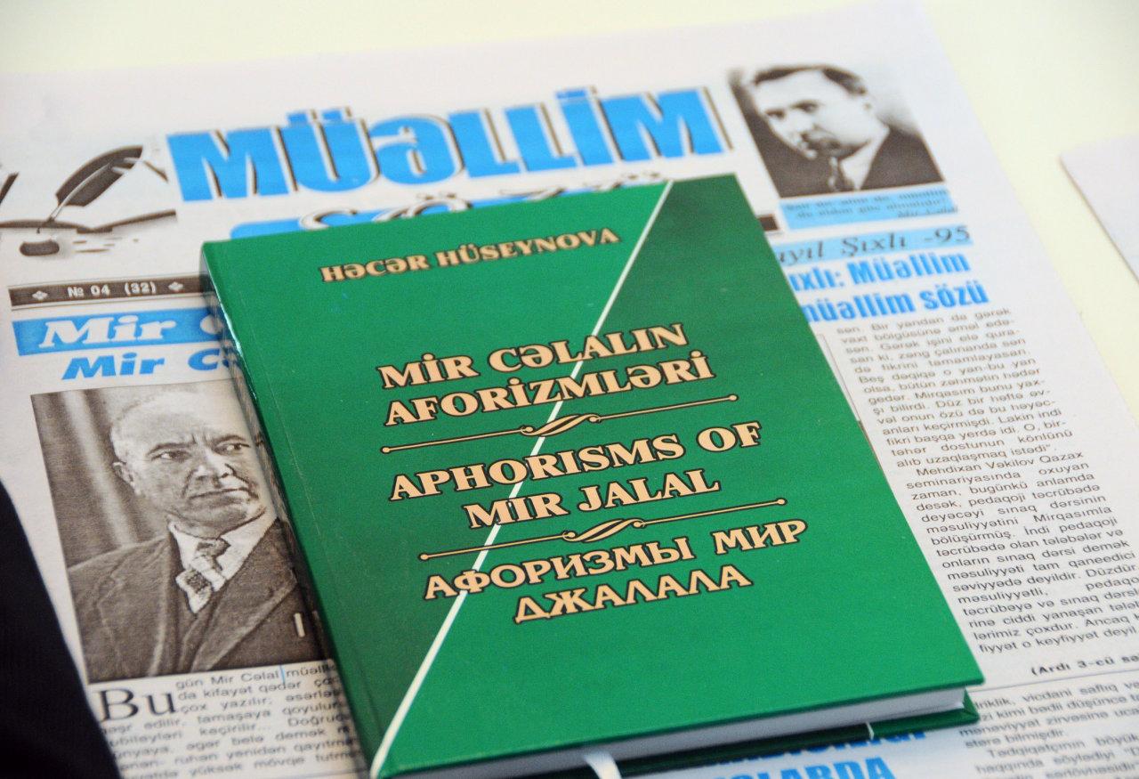 Görkəmli alim, pedaqoq və yazıçı Mir Cəlal Paşayev həyatı və yaradıcılığı ilə örnək olmağa layiq bir insandır