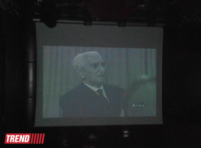 В Баку прошел вечер, посвященный 125-летию со дня рождения Сеида Шушинского (ФОТО)