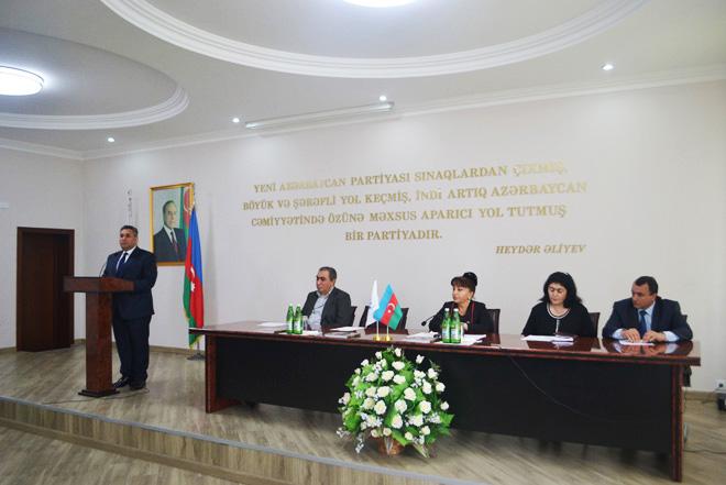 Nizami rayonunda Çernobıl əlilləri böyük diqqət və qayğı ilə əhatələnib (FOTO)