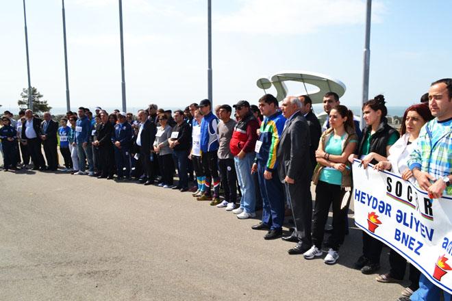 Neft, qaz, kimya sənayesi işçilərinin açıq yarışına yekun vurulub (FOTO)