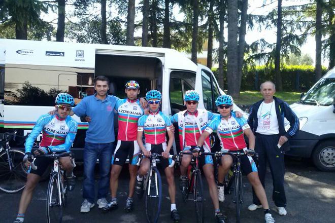 Gənc velosipedçilərimiz Xorvatiyada yarışıblar (FOTO)