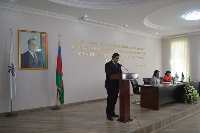 YAP Nizami rayon təşkilatı Şurasının iclası keçirilib (FOTO)
