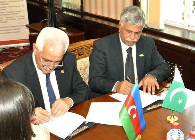 Gəncədə beynəlxalq səviyyədə daha bir memorandum imzalandı (FOTO)