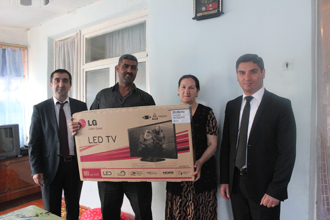 FINCA Azerbaijan launches 1/150.000th client campaign