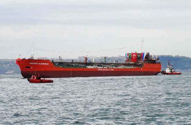 Palmali company group commissions new tanker (PHOTO)