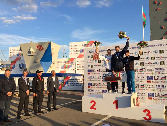 Sport Climbing World Cup Baku 2014 finished (PHOTO)