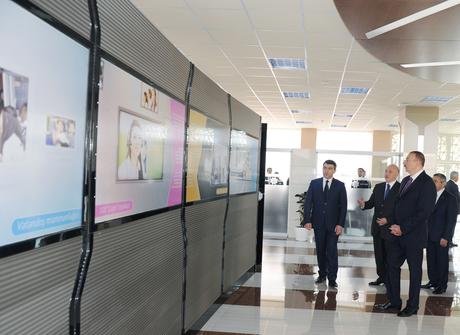 "Ilham Aliyev attended the opening of the Baku Center ""ASAN Xidmət"" No 4 (PHOTO)"