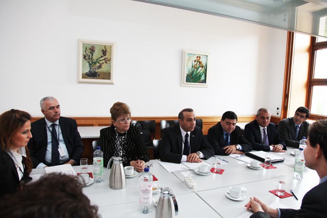 Azerbaijani MP discusses Nagorno-Karabakh conflict in German Foreign Ministry (PHOTO)
