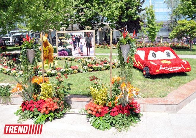 Baku hosts Flower Festival (PHOTO)