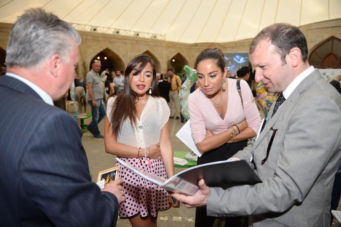 "Leyla Aliyeva attendes closing ceremony of 5th International Art Festival ""Maiden Tower"""