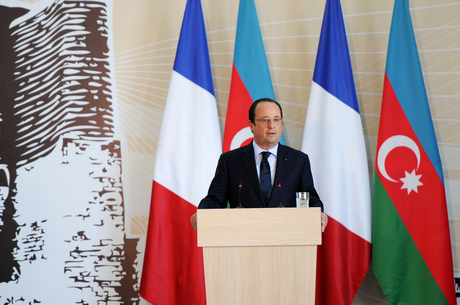 Francois Hollande: There is very high level of economic development in Azerbaijan