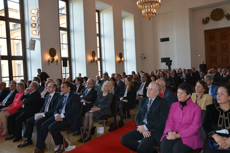 Azerbaijani first lady Mehriban Aliyeva awarded by Turkish-German Friendship Federation