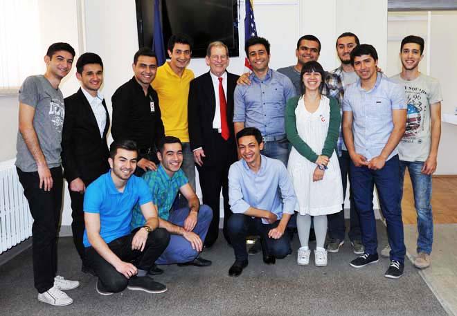 Group of Azerbaijani students to visit U.S. (PHOTO)