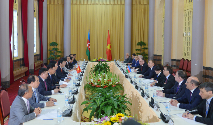 Azerbaijani and Vietnamese leaders meet in expanded format (PHOTO)