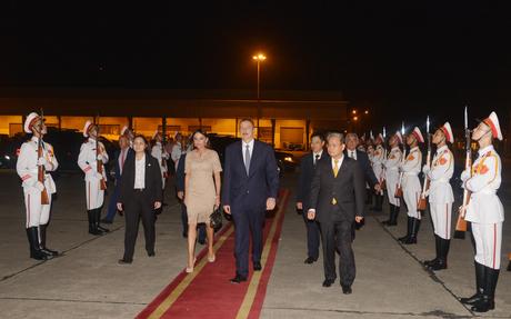Azerbaijani president's state visit to Vietnam ended (PHOTO)