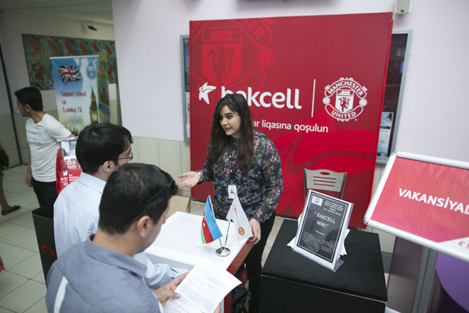 Bakcell attends employment fair event