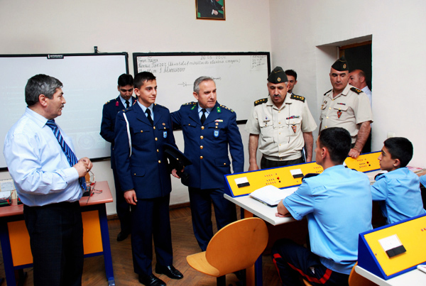 Delegation of Turkish military lyceum visits Azerbaijan (PHOTO)