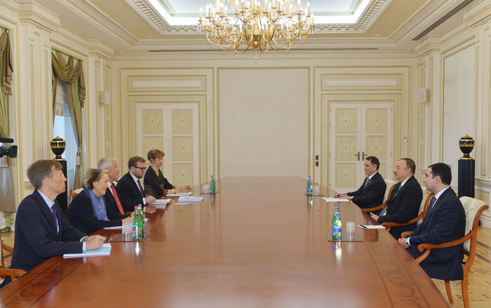 Azerbaijani president receives Secretary General of Council of Europe