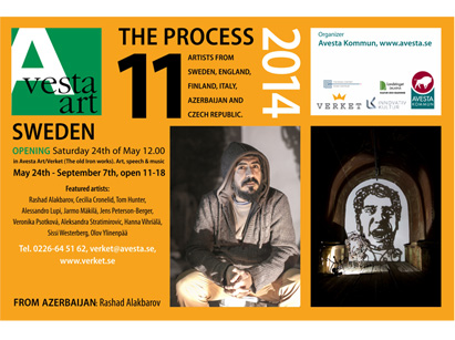 YAY Gallery announces Azerbaijani artist's participation in