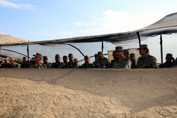 Azerbaijani Armed Forces conduct large-scale exercises in front zone (PHOTO)