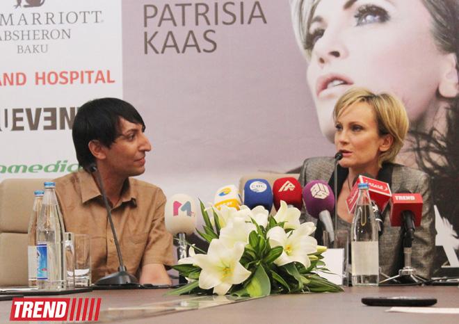 """Патрисия Каас: """"Баку бесподобно преобразился, стал очень красивым и развитым мегаполисом"""" (ФОТО)"""