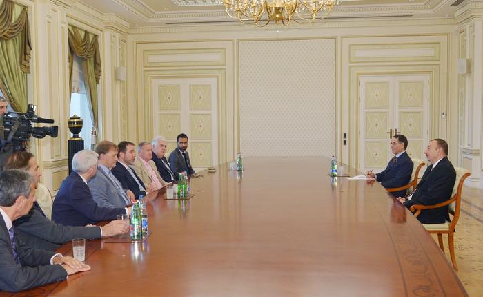 President Ilham Aliyev receives chairman of UK-Azerbaijan parliamentary friendship group