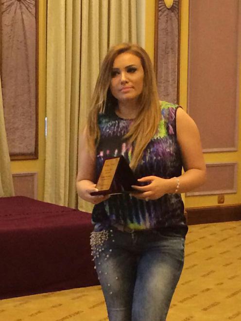 """В Баку состоялась церемония награждения премией """"Star 2014"""" (фото)"""