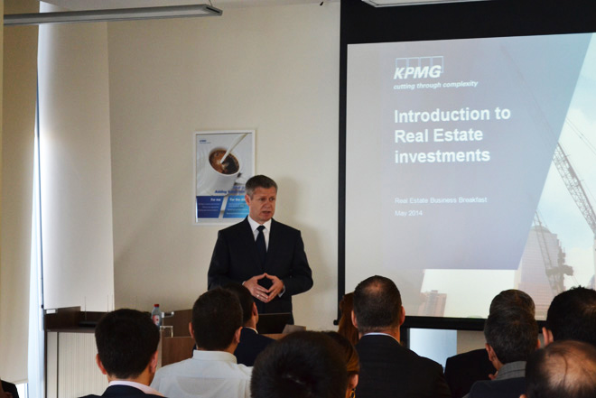 KPMG's office in Baku successfully hosted business event for construction companies