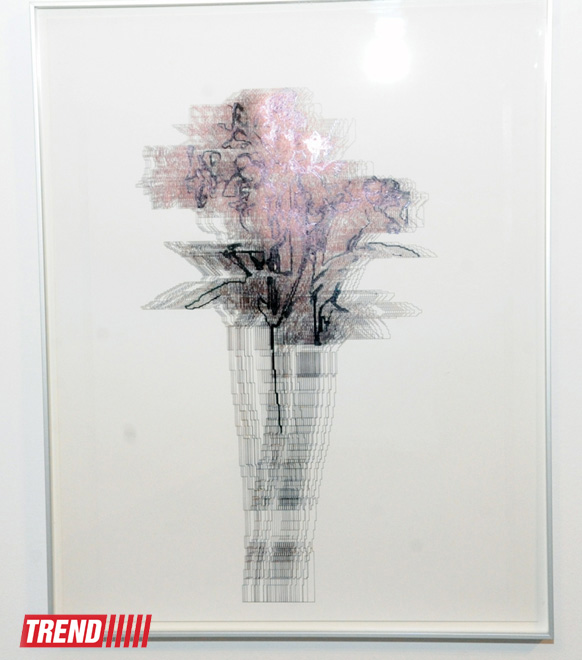 Solo exhibition by Iranian artist Mahmoud Bakhshi held in Baku (PHOTO)