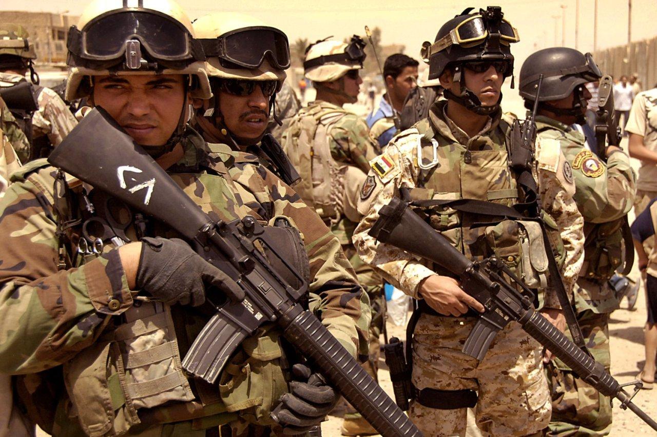 Исламские боевики попытались штурмовать военную базу США насевере Ирака