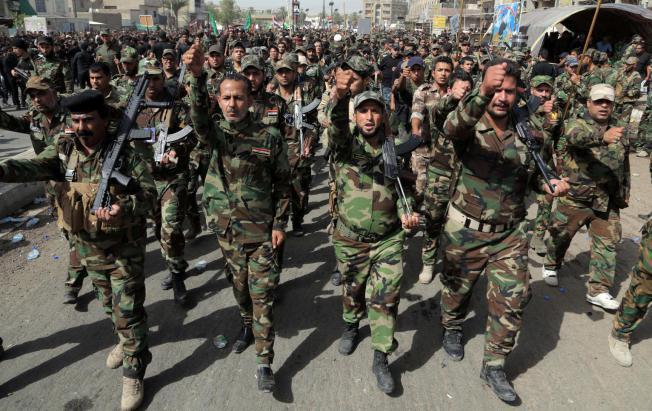 Иракские военные начали наступление напоследний встране форпостИГ