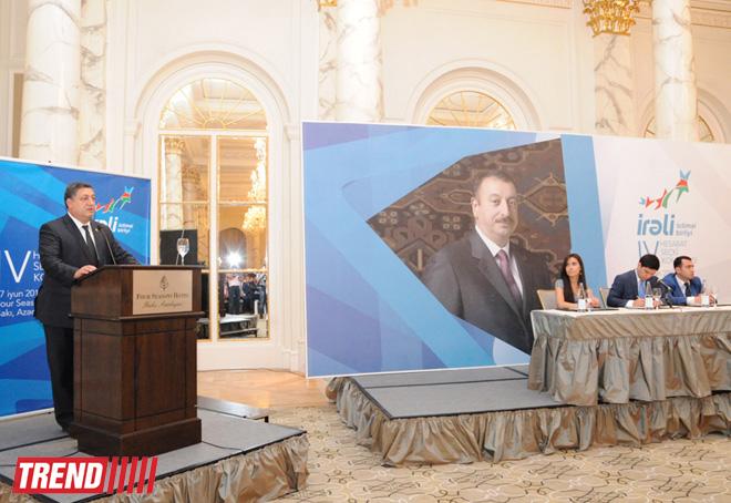 """Mirhəsən Seyidov """"İrəli"""" İB-nin yeni sədri seçildi (FOTO)"""